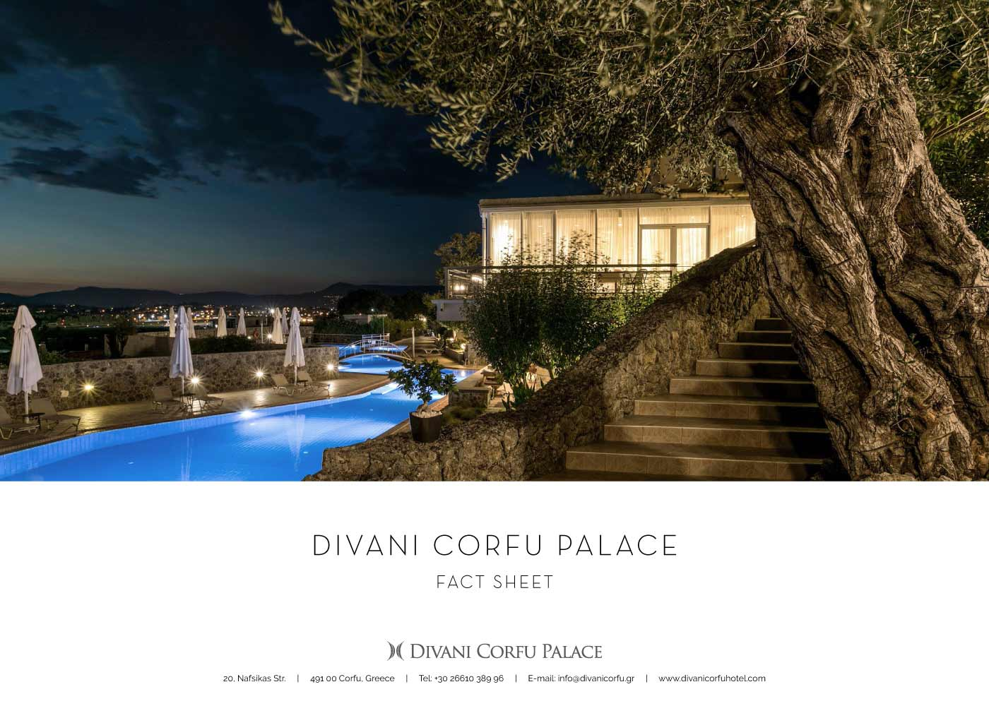 Divani Corfu Palace - Fact Sheet